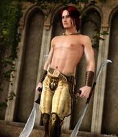 Elvish Blades by Sazariel