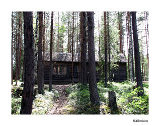 Cabin in the Woods by Mama-cat