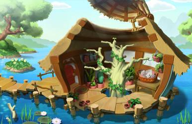 hut by dollbacky