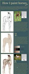 Foal - Tutorial! by feverpaint