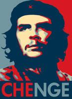 CHENGE Obama Poster Parody by CaptainVendetta