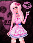 Pink Darkness by kharis-art