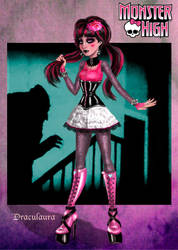 Monster High - Draculaura by kharis-art