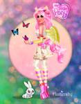 My Little Pony - Fluttershy by kharis-art