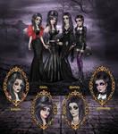 Gothic Icons by kharis-art