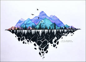 Mountain Rhythm by umbralmoon