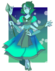 Turquoise (Fusion Commission) by ChocolateCake222