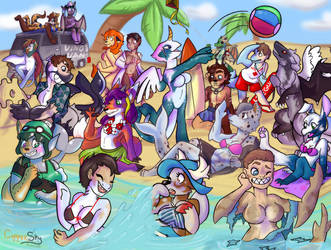 Transformation Beach Party by TheLegendary0296
