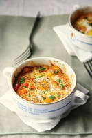 Baked Eggs and Tomatoes by sasQuat-ch