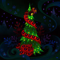 Christmas Snake by pikaole