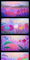 Animation backgrounds by pikaole