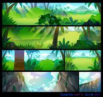Crazy Arcade animation BGs 01 by pikaole