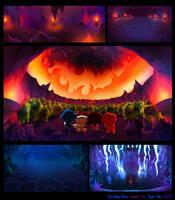 Crazy Arcade animation BGs 03 by pikaole