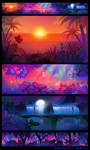 Crazy Arcade animation BGs 04 by pikaole