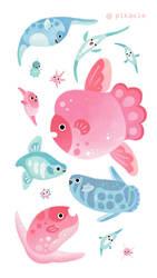 Sunfish by pikaole