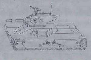 ambulating Light tank MKIII by rafenrazer