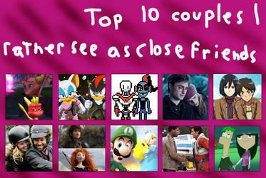 10 ships I prefer as friends by PetStarPlanet