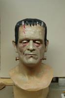 son of frankenstein latex mask by OLDSCHOOLDAN