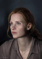 Jessica Chastain (INTERSTELLAR) by sharandula