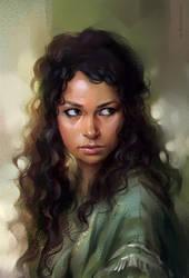 Jessica Parker Kennedy (study) by sharandula