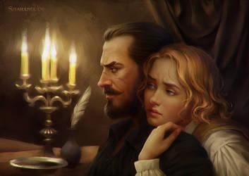 by candlelight by sharandula