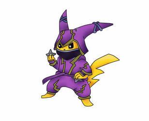Pokemon X League of Legends - Pikachu + Kennen by DiegoDraws-Yan
