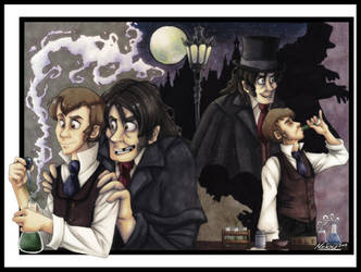 -Jekyll and Hyde- by weird-science