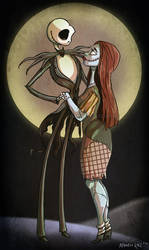 -jack and sally- by weird-science