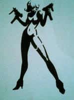 Wanda Stencil by KSTARRATSK