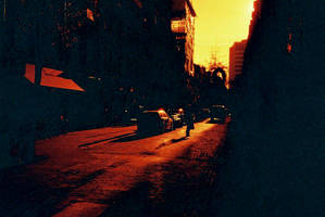 Redscale London by willmeister42