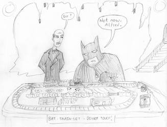 Silly: LFCC Bat-Sketch by willmeister42