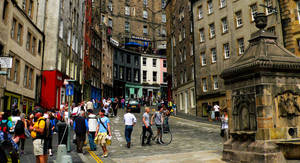 Edinburgh Streets - Colour by willmeister42