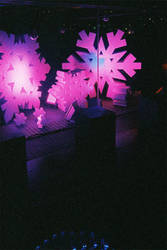 Purple Snowflakes by willmeister42