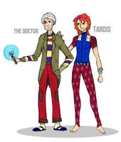13th Doctor Redux by willmeister42