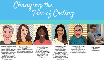 Changing the Face of Coding by SmuttyTheClown