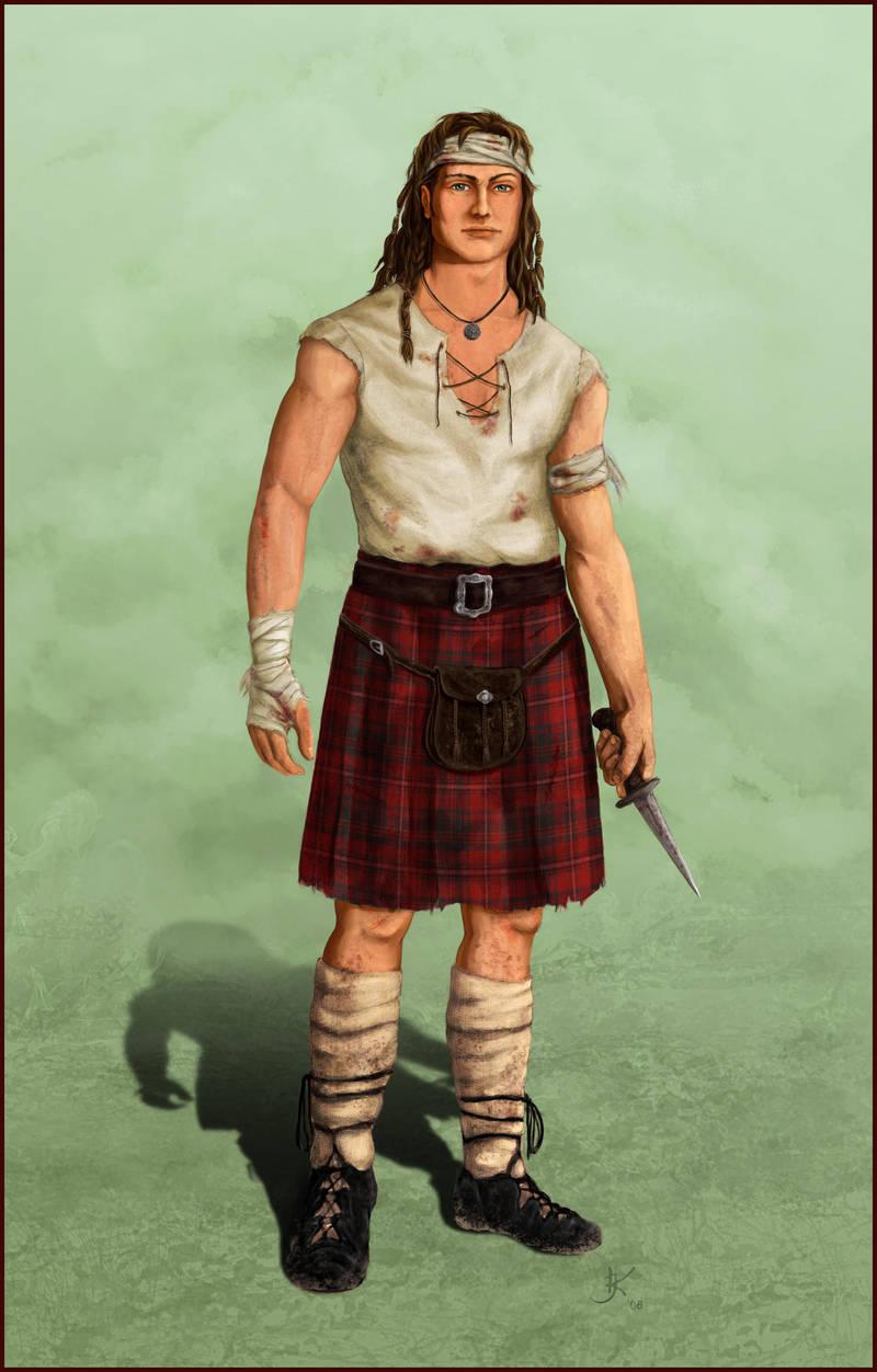 Highland Warrior by kara-kedi