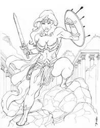 New Design Wonder Woman - Ink by BillDinh