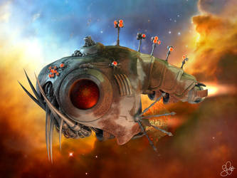 Space Fish by thmc