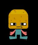 VegeCubic Potato by mutsuking