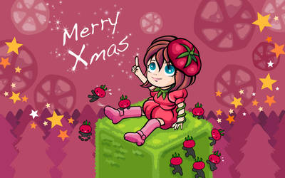 Tomato Xmas by mutsuking