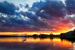 Sunset on Fire by andyhutchinson