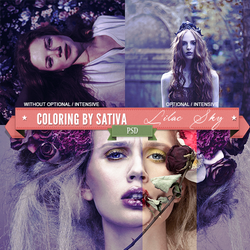 Lilac sky #24 by Sativa by Rainbowepidemic