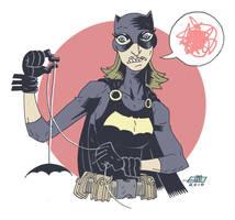 Batgirl: Unimpressed by Andrew-Ross-MacLean