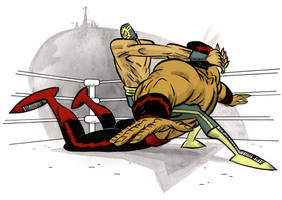 Lucha Submission by Andrew-Ross-MacLean