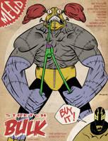 Hero Envy Pinup by Andrew-Ross-MacLean