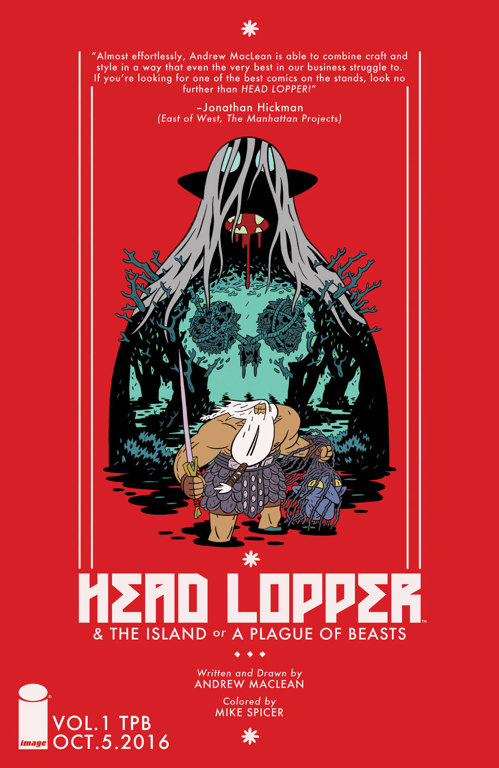 HEAD LOPPER TPB is coming by Andrew-Ross-MacLean