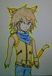 Kyle The Lion Monkey(Sonic Human Fersion) by amyrose1513