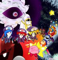 Kirby Star Allies by amyrose1513