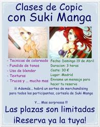 Cartel clases de Copic by Suki-Manga