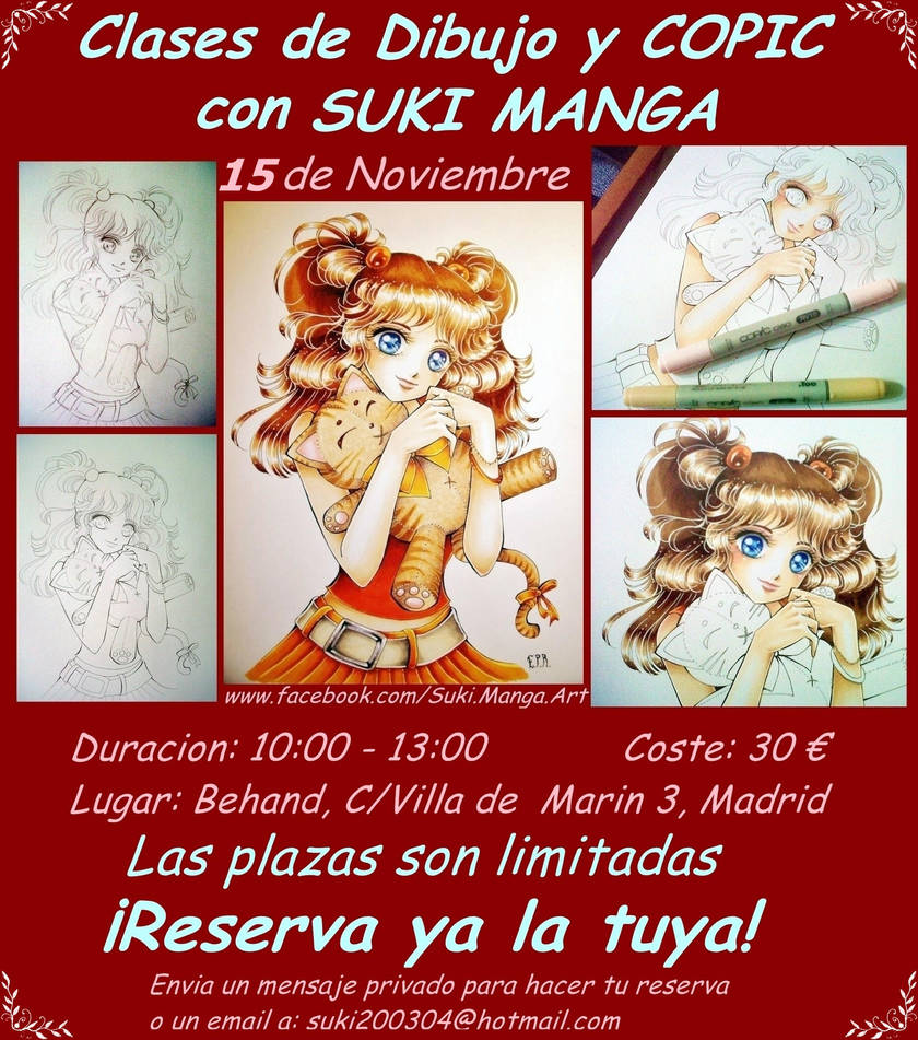 Clases de Dibujo y Copic con SUKI MANGA by Suki-Manga